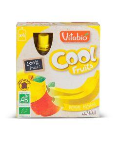 Coolfruit's Bio Appel Banaan - 4 x 90 g