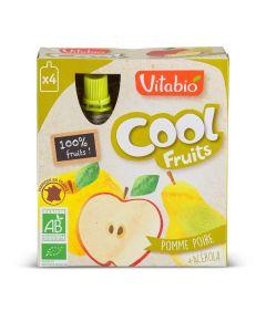 Coolfruit's Bio Pomme Poire - 4 x 90 g