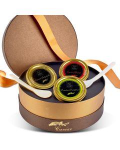 Coffret de 3 Caviars - 3 x 50 g