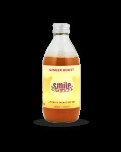Bio Kombucha 'Ginger Boost' - 33 cl