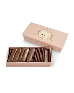 Coffret Rose, Langues de Chat Chocolat au Lait - 150 g
