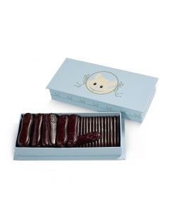 Coffret Bleu, Langues de Chat, Chocolat Noir
