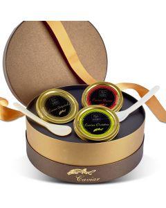 Coffret de 3 Caviars - 3 x 30 g
