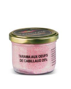 Tarama aux Oeufs de Cabillaud 25% - 90 g