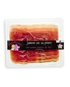 Gedroogde Ham met Peper - 90 g