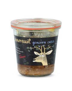 Pâté Chevreuil Genièvre Cassis - 200 g