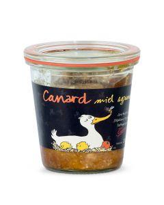 Pâté Canard Miel Agrumes - 200 g