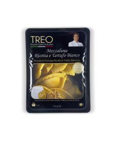 Mezzaluna Fromage Ricotta et Truffes Blanches - 250 g