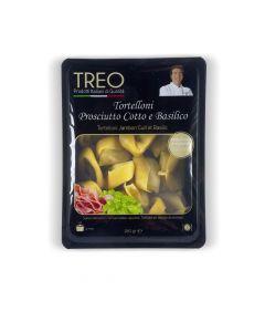 Tortelloni Gekookte Ham en Basilicum - 250 g