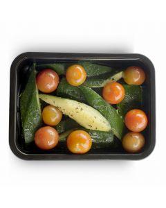 Poêlée de Courgettes et Tomates Cerises - 1 pers.