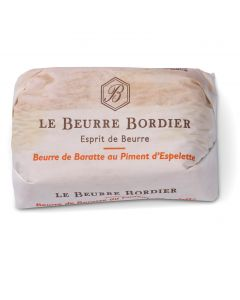 Gekarnde Boter met Piment d'Espelette - 125 g