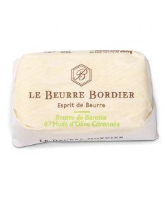 Beurre à l'Huile d'Olive Citronnée - 125 g