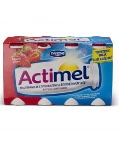 Actimel Fraise - 8x100 ml