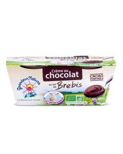 Biologische Zuiveldessert met Schapenmelk en Chocolade - 200 g