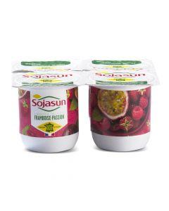 Spécialité au Soja, Framboise Fruits de la Passion - 4 x 100 g
