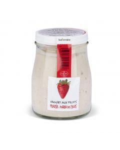 Yaourt Fraise Mara des Bois - 180 g