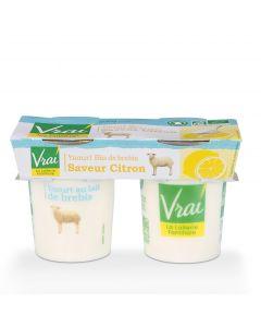 Yoghurt Citroen Bio van Schapenmelk - 2 x 125 g