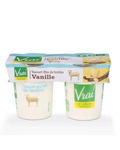 Yoghurt Vanille Bio van Schapenmelk - 2 x 125 g
