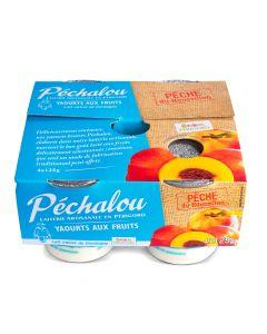 Yoghurt Perzik - 4 x 125 g