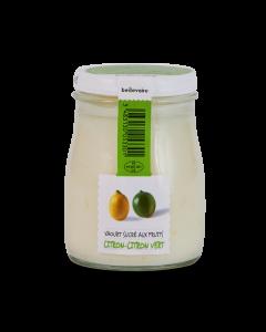 Yaourt Citron & Citron Vert - 180 g