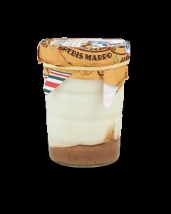 Yoghurt van Schapenmelk met Vanille & Kastanje - 140 g