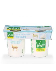 Yoghurt Natuur Bio van Schapenmelk - 2 x 125 g