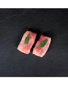 Saltimbocca Viande de Veau et Jambon Cru