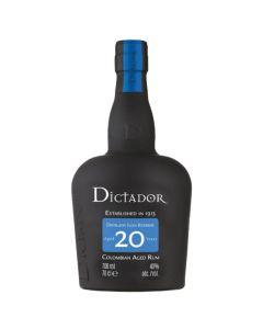 Rhum Dictador 20 Ans Colombia - 70 cl