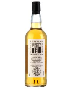 Kilkerran 12 Years Single Malt Scotch Whisky – 70 cl