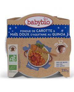 Plat Carotte Maïs et Quinoa - 230 g
