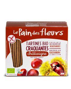 Krokante Bio Crackers met Kastanje - 150 g