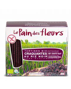 Krokante Bio Crackers met Zwarte Rijst - 150 g