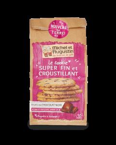 Cookies Fins et Croustillants aux Éclats de Chocolat Noir - 140 g