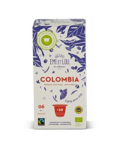 Colombia Koffie - 10 capsules