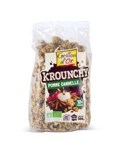 Biologische Krounchy Appel Kaneel - 500 g