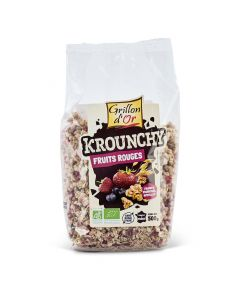 Krounchy Fruits Rouges Bio - 500 g