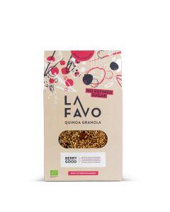 Granola met Gepofte Quinoa en Bessen - 300 g
