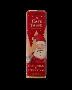 Melkchocolade & Speculaasvulling 'Kerstmis' - 45 g