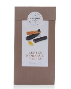 Zestes d'Orange Nappés de Chocolat - 125 g
