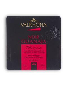 Carrés de Chocolat Noir Guanaja 70% Cacao - 90 g