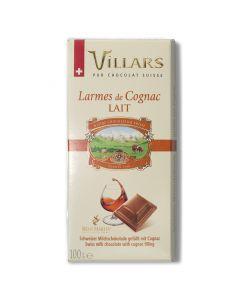 Chocolat au Lait Fourré au Cognac - 100 g