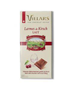 Chocolat au Lait Fourré au Kirsch - 100 g