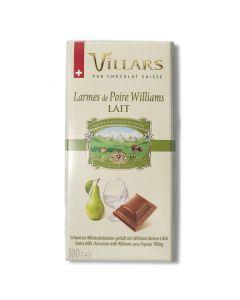 Chocolat au Lait Fourré à la Poire - 100 g