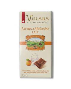 Chocolat au Lait Fourré au Liqueur d'Abricots - 100 g