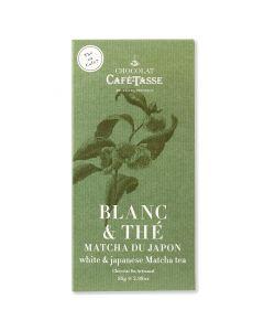 Chocolat Blanc au Thé Matcha - 85 g