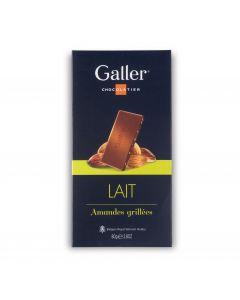 Chocolat au Lait Amandes Grillées - 80 g