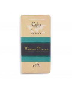 Chocolat Noir Bio 75% - Cuba - 100 g