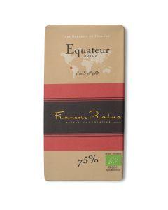 Tablette Chocolat Noir Bio 75% - Equateur Arriba - 100 g