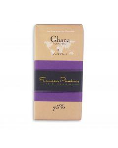 Chocolat Noir Bio 75 % - Ghana - 100 g
