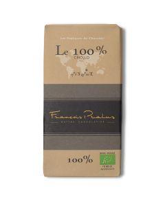 Bio 100% Chocolat Noir - Le 100% Criollo - 100 g